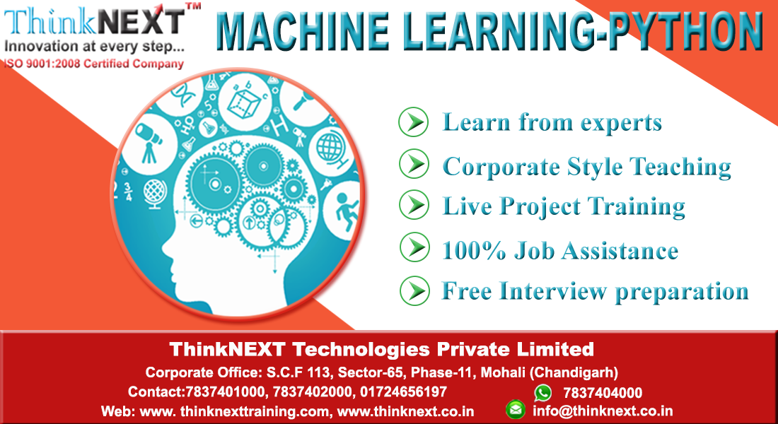 ThinkNEXT Technologies Private Limited : Best Machine Learning and