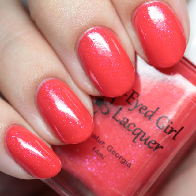 Blue-Eyed Girl Lacquer Best Selling Show