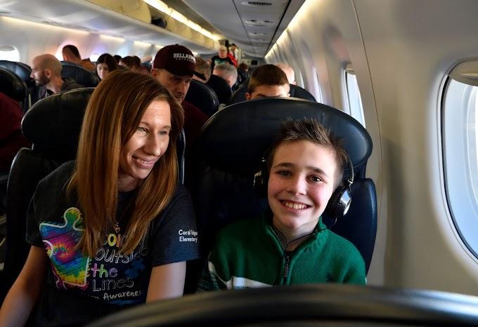 El programa de American Airlines ayuda a niños con autismo a alcanzar nuevas alturas