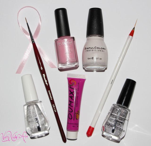 Octubre rosa | Manicura solidaria material