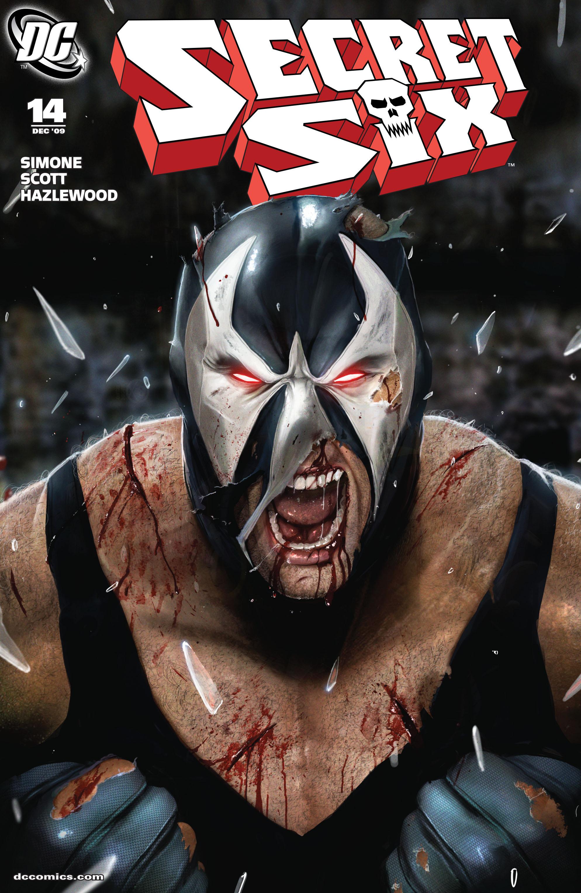 Read online Secret Six (2008) comic -  Issue #14 - 1