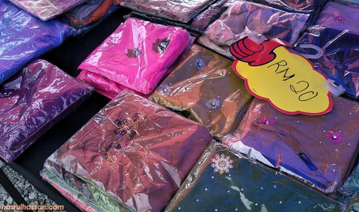 Pasar Kemboja, tempat shopping sakan wanita pada hari Sabtu