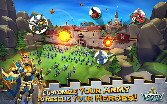Download Lords Mobile APK MOD