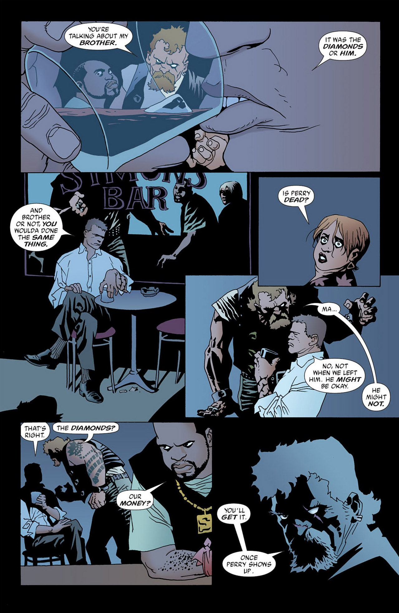 Read online 100 Bullets comic -  Issue #50 - 12