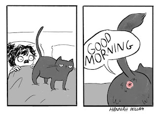 Artist Illustrates What It's Like To Live With Cats (10+ Pics)
