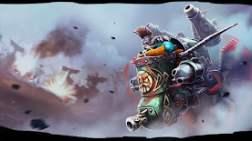 Gyrocopter DOTA 2 Wallpaper, Fondo, Loading Screen