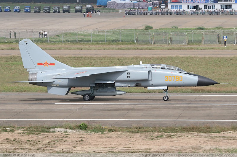 JH-7 Chinese Fighter-Bomber