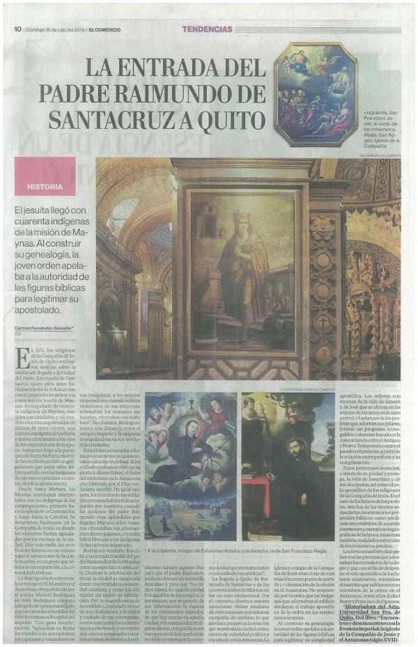 La Entrada del Padre Raimundo de Santacruz