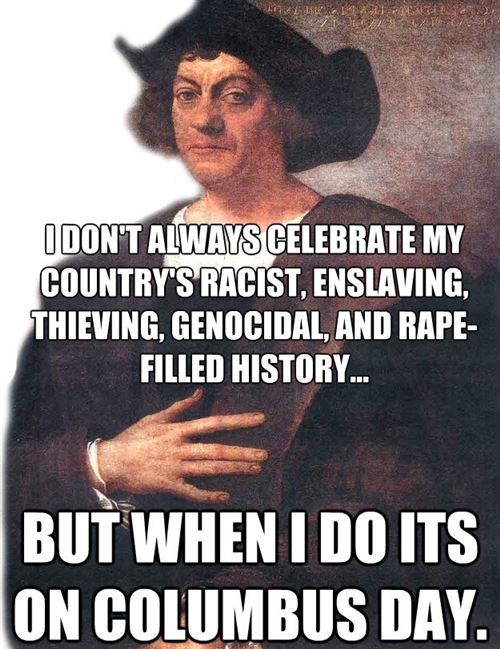 Short Christopher Columbus Day Jokes
