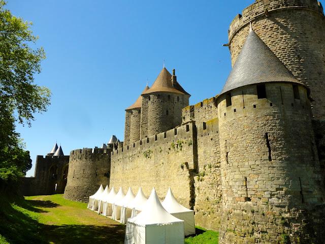 La Cite, Carcassonne, France