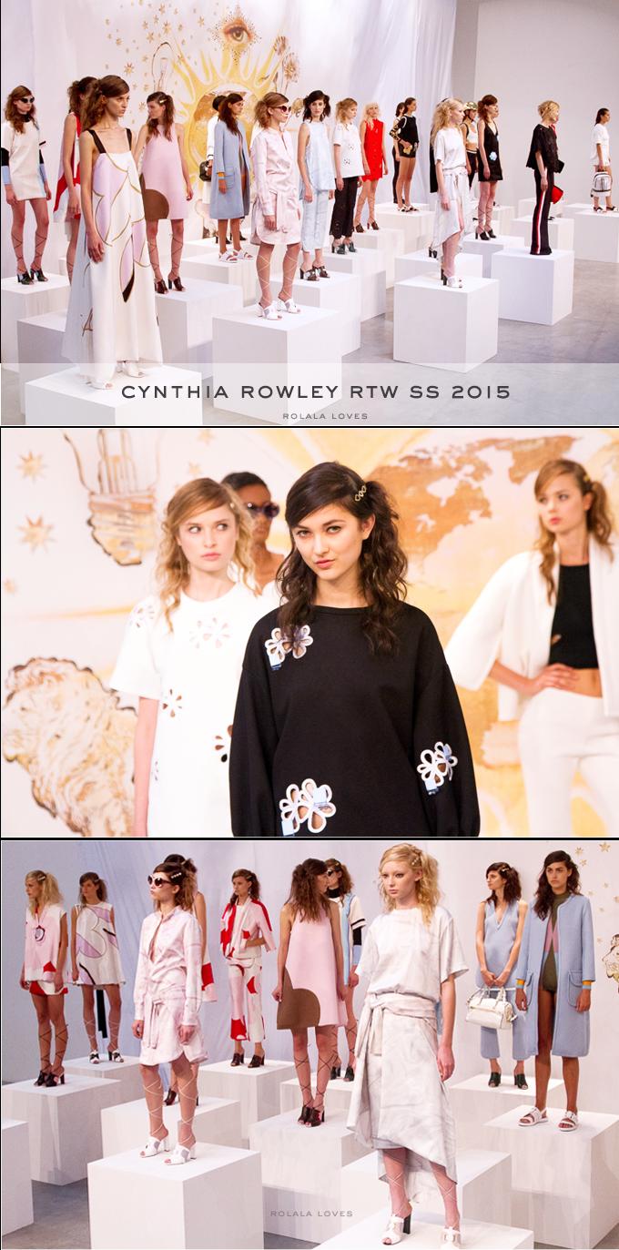 Cynthia Rowley Spring 2015, CRlandia, NFFW