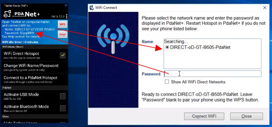 طريقة مشاركة النت المجاني من الهاتف الى الكمبيوتر بدون روت