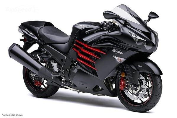 Kawasaki Ninja ZX-14R motor tercepat dan terkencang di dunia