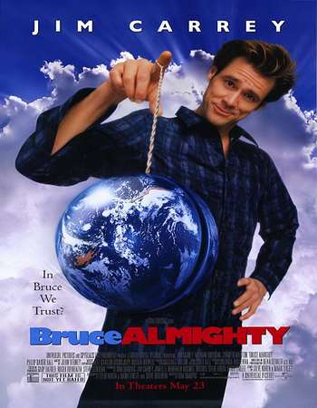 Bruce Almighty 2003 Hindi Dual Audio BRRip Full Movie Download