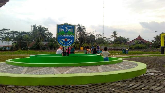 Taman di Pintu singa Kota Banjar