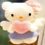 PATRON HELLO KITTY AMIGURUMI 23542