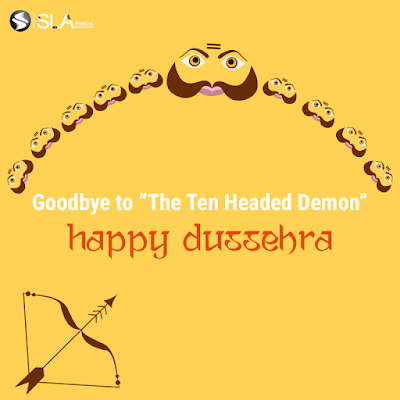 SLA Financial Solutions Dussehra Social Post