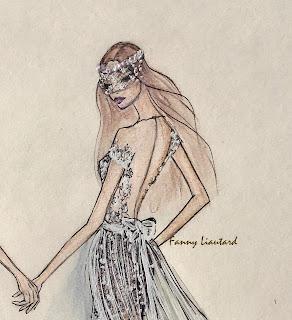 Fanny Liautard créateur robes de mariée dos nu Paris