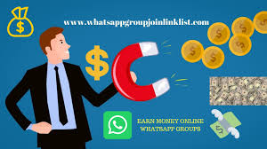 online earning whatsapp group link