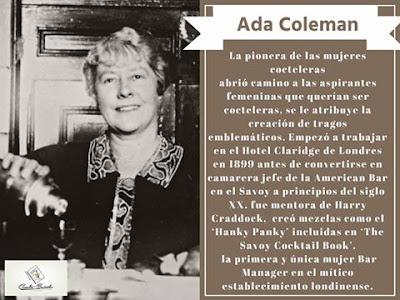 La primer bartender femenina