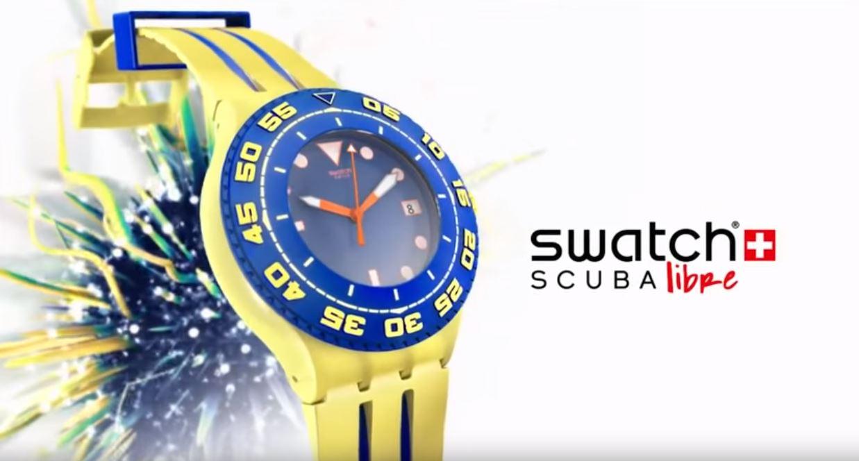 Canzone Pubblicità Swatch Scuba Libre | Musica spot
