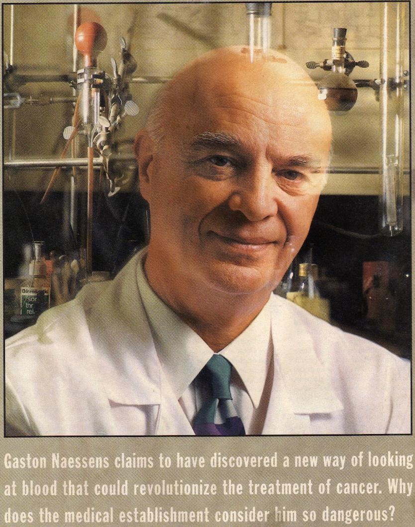 Sage Advice On Health: Article on Gaston Naessens