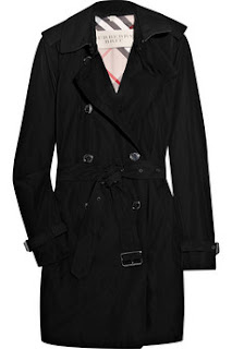 uncategorized  : Burberry Trench Coat black glossed twill