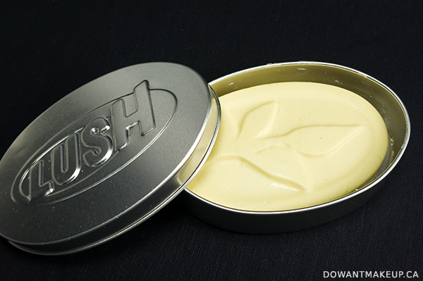LUSH Shades of Earl Grey massage bar review