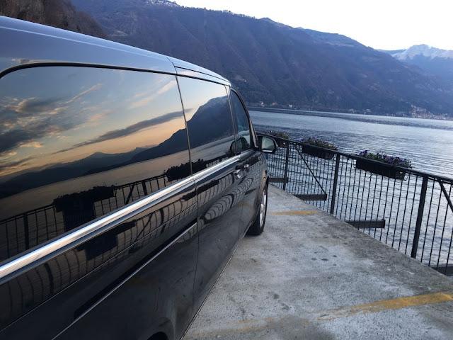 taxi lago di como milano