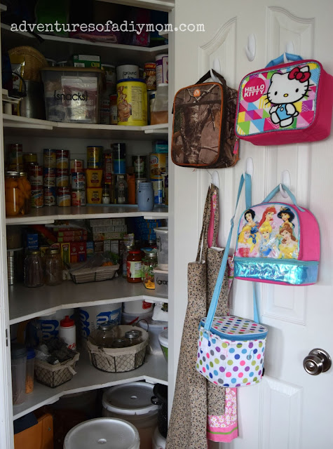 Lunch Box Organization