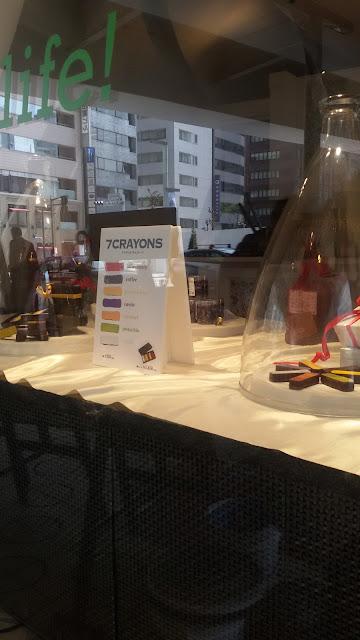 7 crayon chocolate ginza tokyo mariafelicia magno fashion blogger viaggio a tokyo cosa visitare a tokyo quartiere ginza tokyo ginza neighborhood  travel blog travel blogger life style blogger trip in japan what visit in japan what visit in tokyo tokyo by day ginza day color block by felym