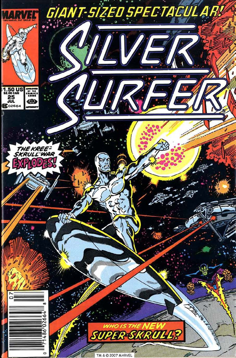 Read online Silver Surfer (1987) comic -  Issue #25 - 1