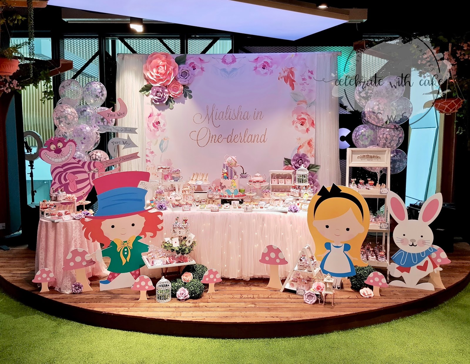 Cake Decoration Party Alice In