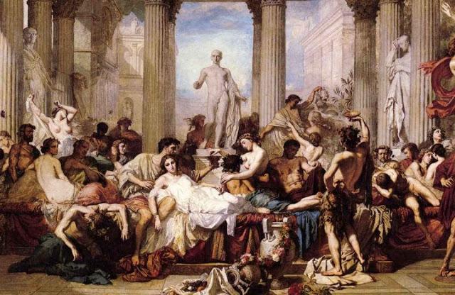 LUZ DE DIOS Roma-orgia