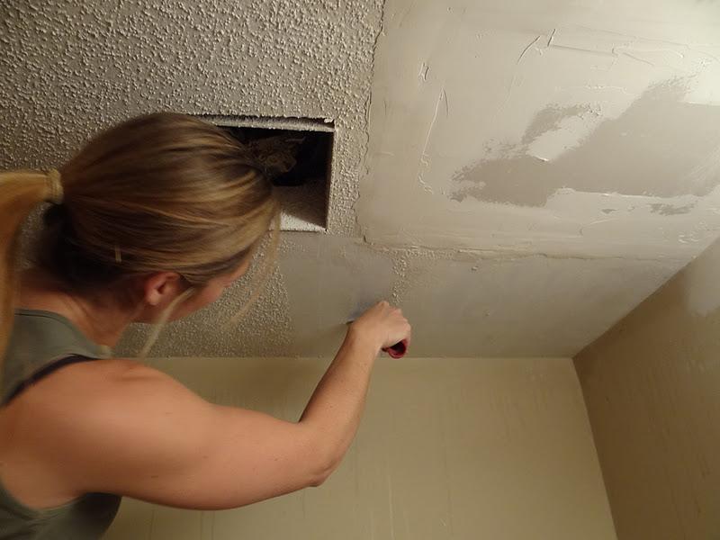 Lovely Skim Coat Ceiling After Removing Popcorn Www Gradschoolfairs Com