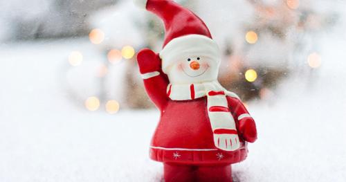 frases de natal boneco de neve