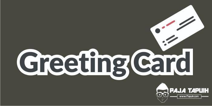 Soal Tentang Greeting Card Dan Jawaban