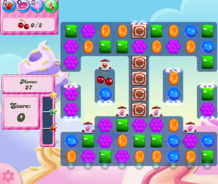 Candy Crush Saga level 2827