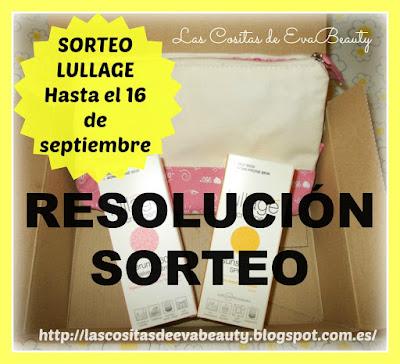 Resoluci�n Sorteo Lullage!!!!!!!