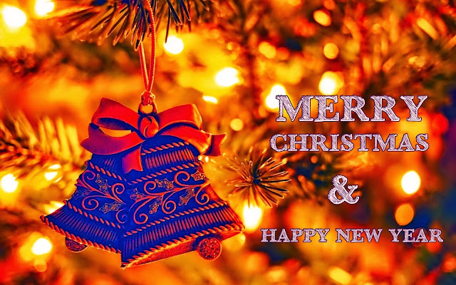 Merry Christmas and Happy New Year 2019 Wallpaper