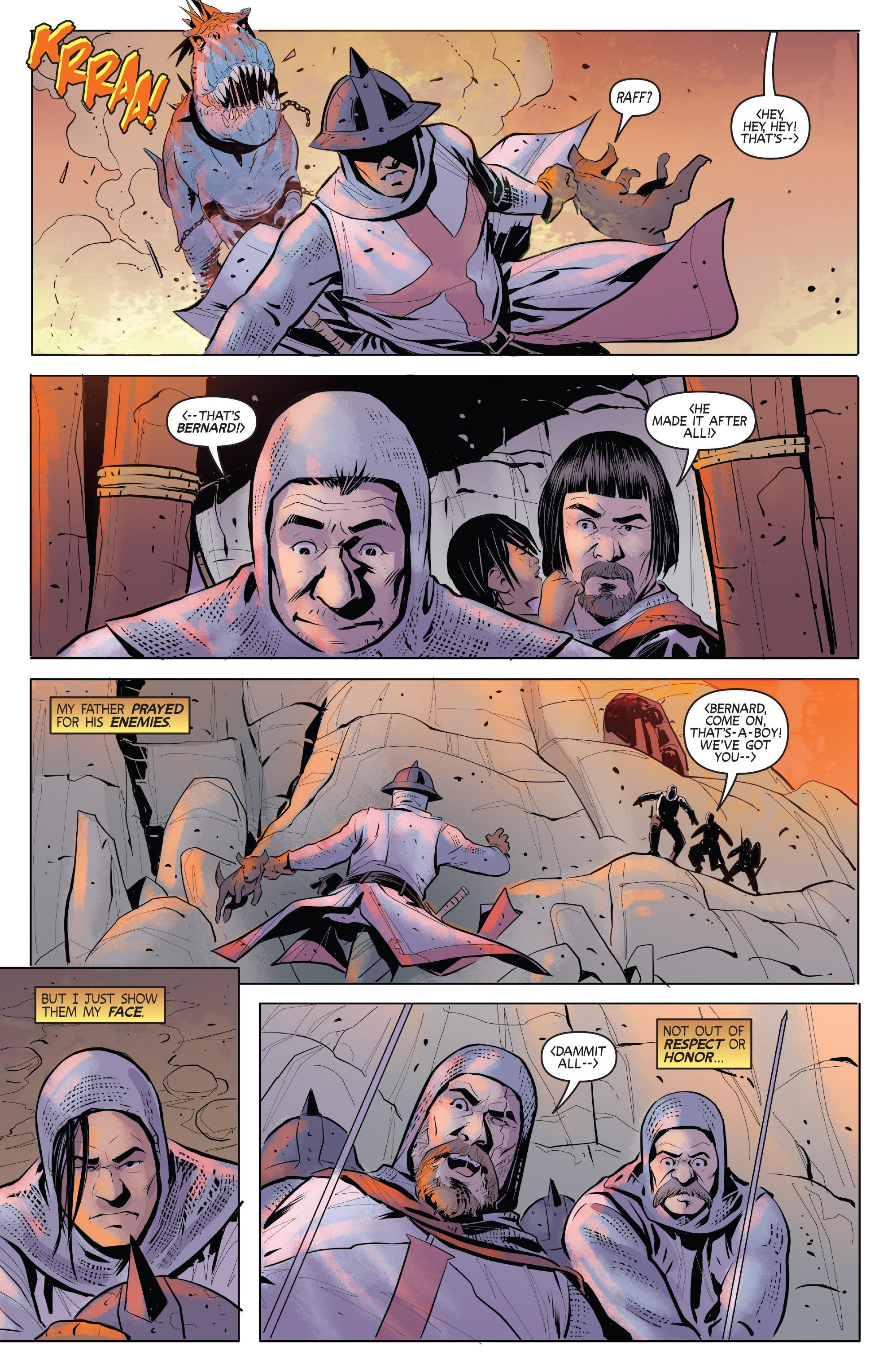 Read online Turok: Dinosaur Hunter (2014) comic -  Issue # _TPB 1 - 85