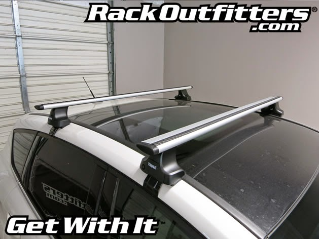 Rack Outfitters: Ford C-MAX w/Glass Roof Thule Rapid ...