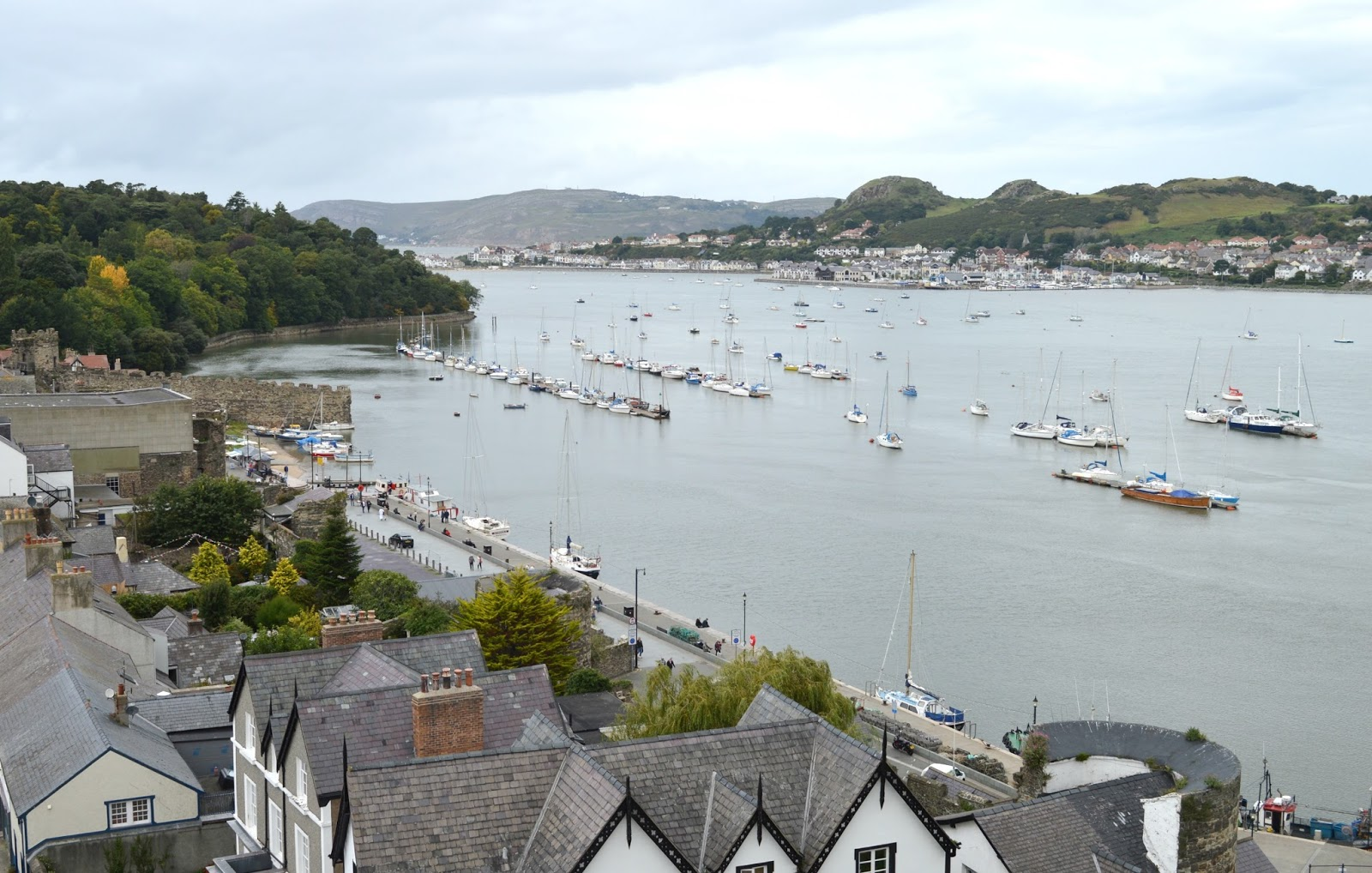 Anglesey and North Wales Staycation - Conwy View
