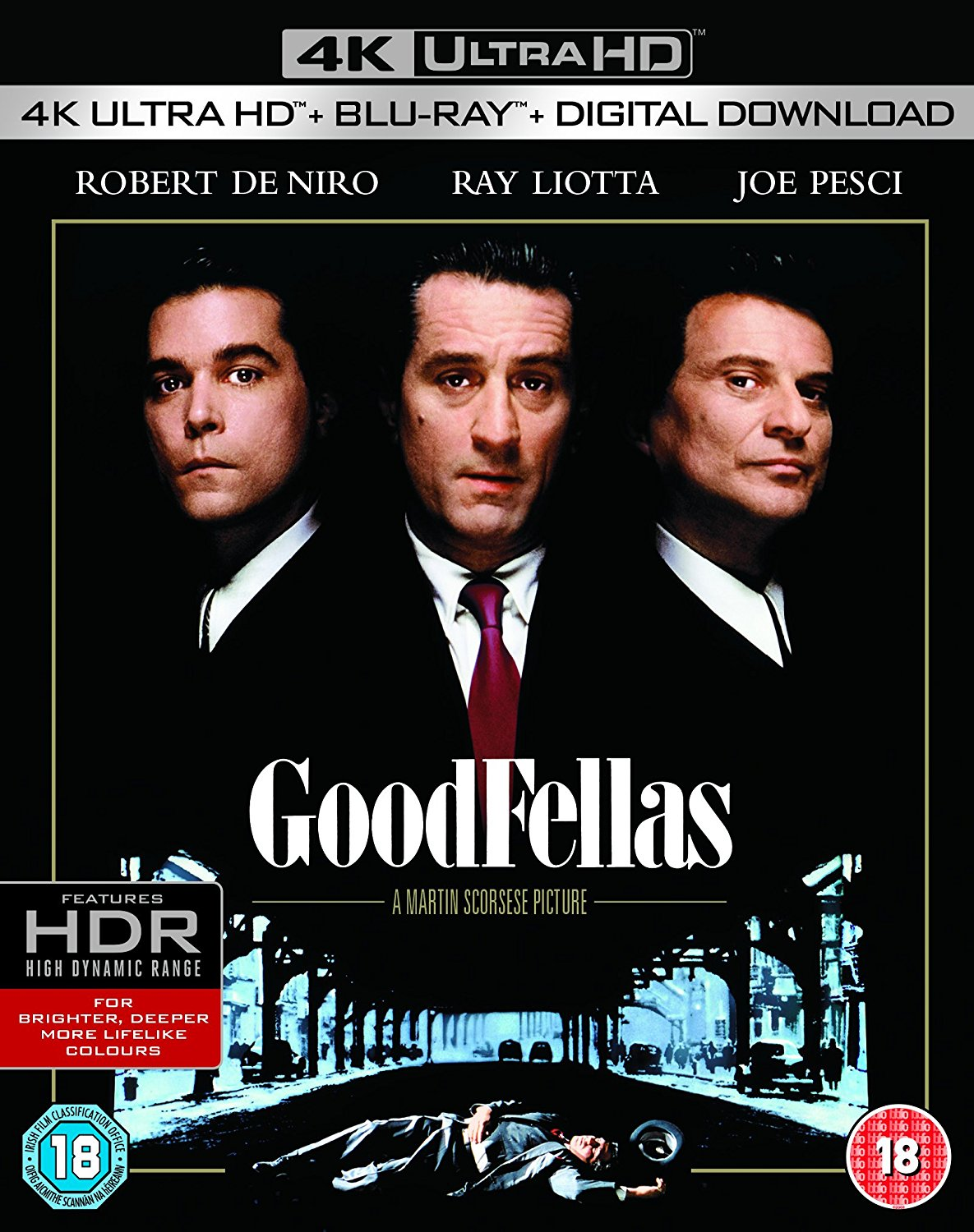Classic films Goodfellas DVD Cover