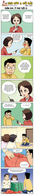 Kim Chi & Củ Cải (bộ mới) phần 444: Tỷ phú tuổi 21
