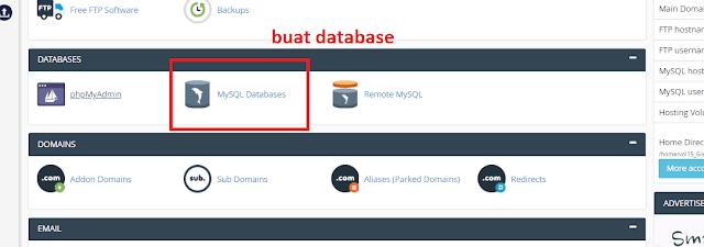 set database