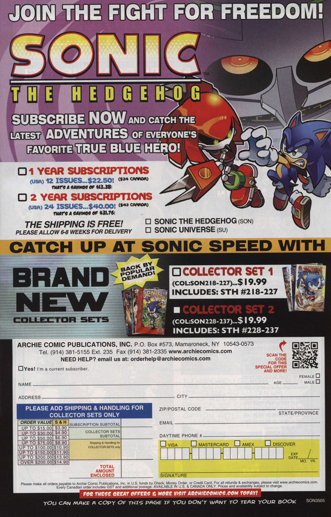 Read online Sonic The Hedgehog comic -  Issue #246 - 7