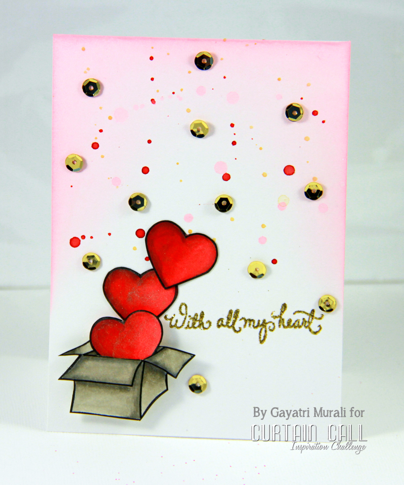 curtain call curtain call inspiration challenge  love letter