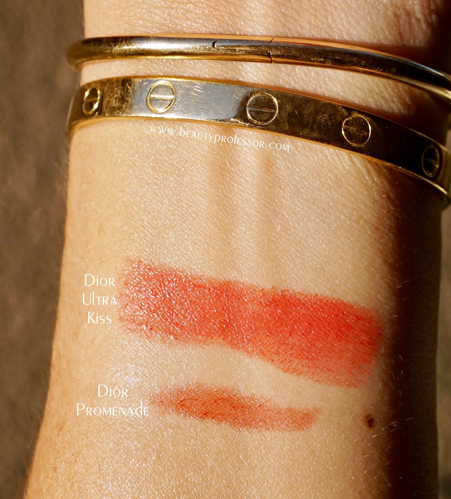 dior promenade dior ultra kiss swatches