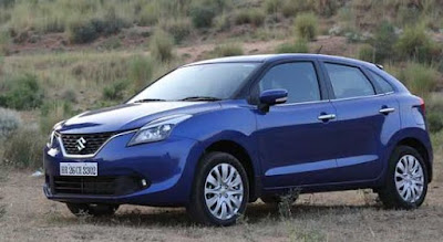 maruti suzuki Baleno car images - forest look